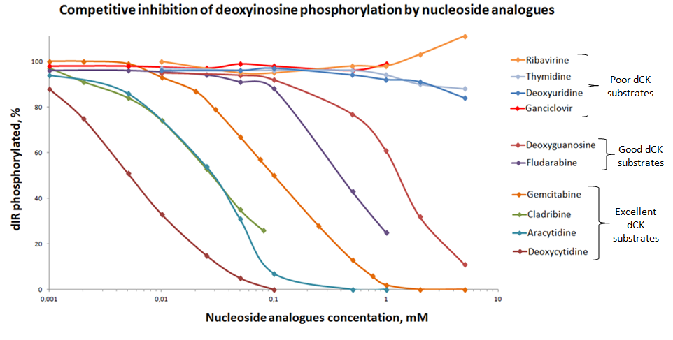 dCK phosphorylation validation